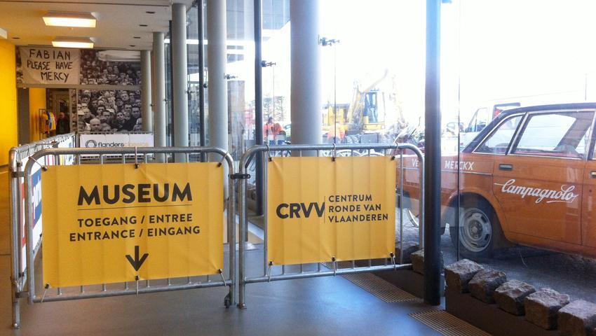 CRVV Oudenaarde, atento decorbouw