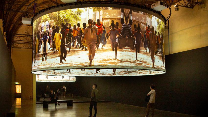 Lieve Blancquaert - Circle of Life - Sint Pietersabdij - atento atelier