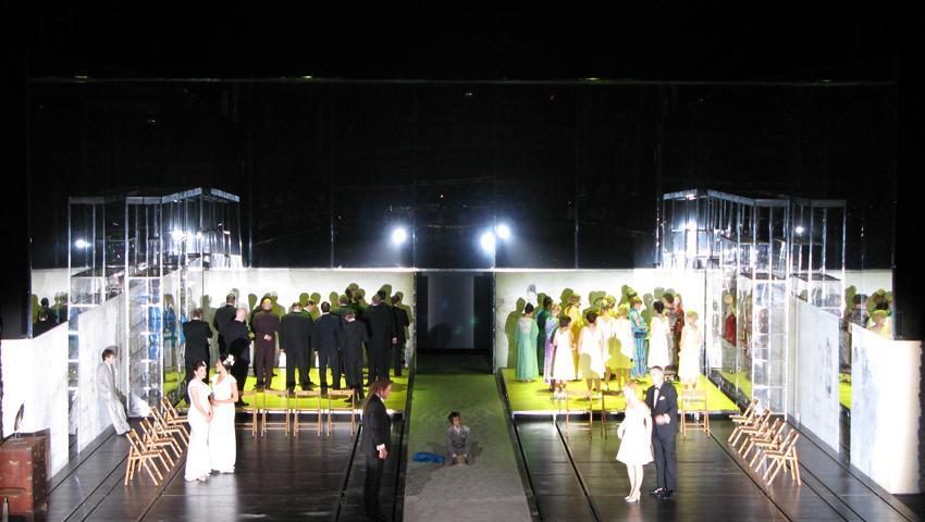 opera Médée Munt, atento decorbouw