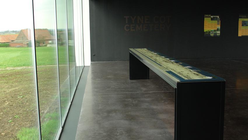 bezoekerscentrum Tyne Cot, Zonnebeke, Atento Decorbouw bvba